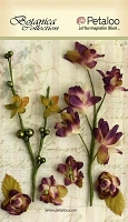 Petaloo - Botanica Collection - Floral Ephemera - Purple