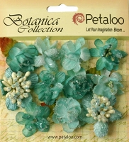 Petaloo - Botanica Collection - Sugared Minis - Teal