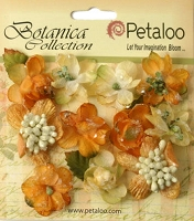 Petaloo - Botanica Collection - Sugared Minis - Gold/Sienna