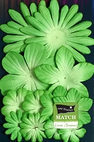 Petaloo - core'dinations - Mulberry Paper Flowers - Lime