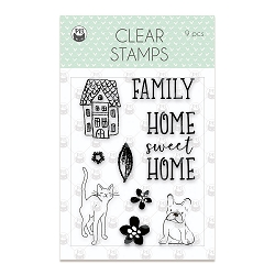 Piatek 13 - We Are Family Collection - Clear Stamp
