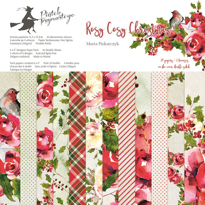 Rosy Cosy Christmas Collection