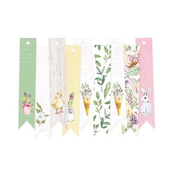 Piatek 13 - The Four Seasons Spring - Decorative Tags (ephemera flags)