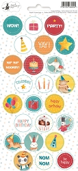 Piatek 13 - Happy Birthday Collection - Party Sticker 02