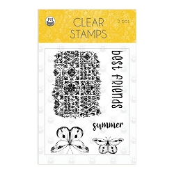 Piatek 13 - The Four Seasons Summer - Clear Stamp