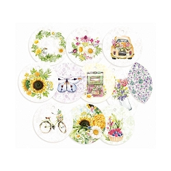 Piatek 13 - The Four Seasons Summer - Decorative Tags (round ephemera)
