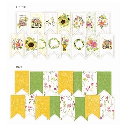 Piatek 13 - The Four Seasons Summer - Paper Garland