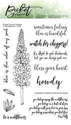 Picket Fence Studios - A Bluebonnet Clear Stamps