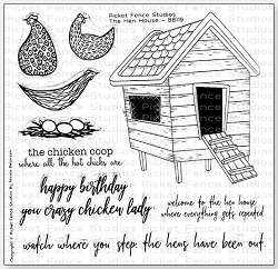Picket Fence Studios - The Hen House Clear Stamps
