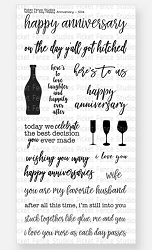 Picket Fence Studios - Ways To Say Happy Anniversary Clear Stamps