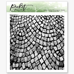 Picket Fence Studios - Cobblestone Path Clear Stamps