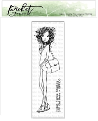 Picket Fence Studios - BFF Girl Kate Clear Stamps