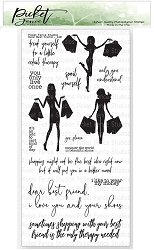 Picket Fence Studios - Dear Best Friend Clear Stamps