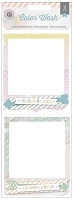 Pink Paislee - Color Wash Collection - 3-D Stacked Cardstock Cluster Frames