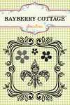 Pink Paislee-Bayberry Cottage-Clear Stamps