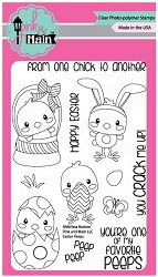 Pink & Main - Clear Stamp - Easter Peeps