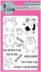 Pink & Main - Clear Stamp - The Herd
