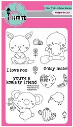 Pink & Main - Clear Stamp - Koalaty Friend