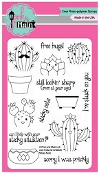 Pink & Main - Clear Stamp - Sticky Note