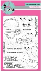 Pink & Main - Clear Stamp - Fiesta