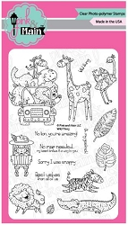 Pink & Main - Clear Stamp - Wild Thing
