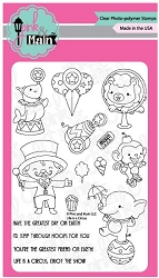 Pink & Main - Clear Stamp - Life is a Circus