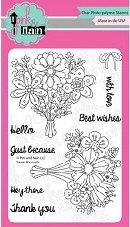 Pink & Main - Clear Stamp - Sweet Bouquets