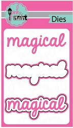 Pink & Main - Cutting Die - Magical