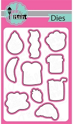 Pink & Main - Cutting Die - Breakfast Fun