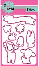 Pink & Main - Cutting Die - Sketched Easter