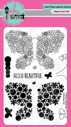 Pink & Main - Clear Stamp - Hello Beautiful