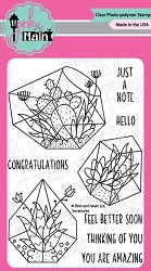 Pink & Main - Clear Stamp - Terrariums