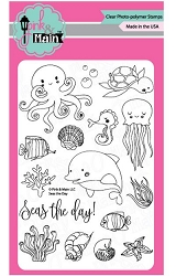 Pink & Main - Clear Stamp - Seas the Day