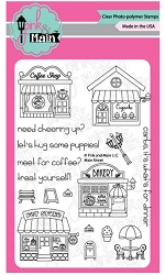 Pink & Main - Clear Stamp - Main Street