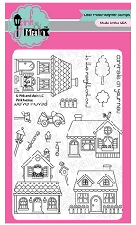 Pink & Main - Clear Stamp - Pink Avenue