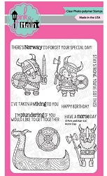 Pink & Main - Clear Stamp - Norse Day