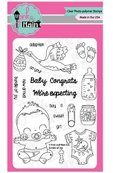 Pink & Main - Clear Stamp - Bundle of Joy