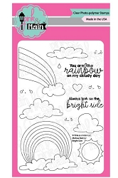 Pink & Main - Clear Stamp - Bright Side