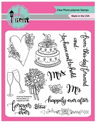 Pink & Main - Clear Stamp - Happily Ever After