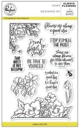 Pink Fresh Studio - Clear Stamps - Always Flowers