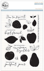 Pink Fresh Studio - Clear Stamps - Fruitastic