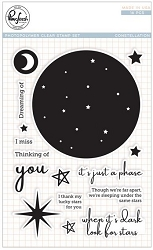 Pink Fresh Studio - Clear Stamps - Constellation
