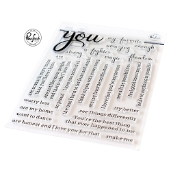 Pinkfresh Studio - Simply Sentiments You Clear Stamps