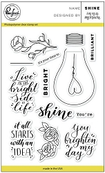 Pink Fresh Studio - Clear Stamps - Shine