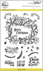 Pink Fresh Studio - Clear Stamps - Merry & Bright