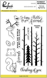 Pink Fresh Studio - Clear Stamps - Forest Friends