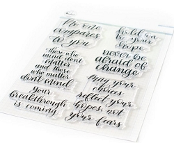 Pinkfresh Studio - No one compares to you Clear Stamps