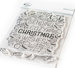 Pinkfresh Studio - Cozy Christmas Wishes Clear Stamps