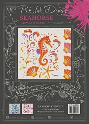 Pink Ink Designs Layered Stencils - Seahorse