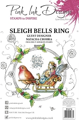 Pink Ink Designs - Sleigh Bells Ring A5 Clear Stamp Set